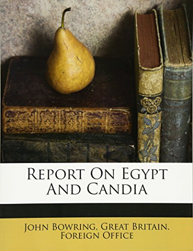9781245439428: Report On Egypt And Candia