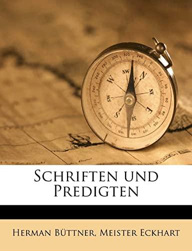 9781245644037: Schriften und Predigten (German Edition)