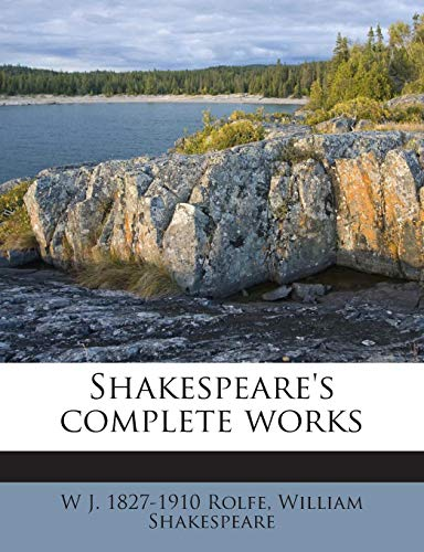 9781245743631: Shakespeare's complete works