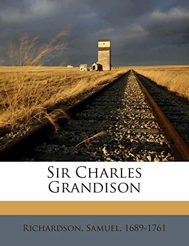 9781245830713: Sir Charles Grandison