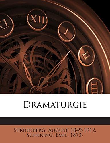 9781245951456: Dramaturgie (German Edition)
