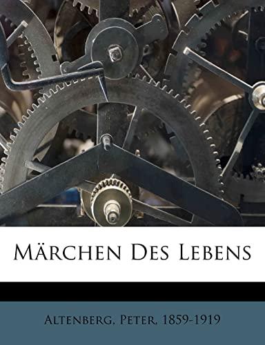 9781246113228: Marchen Des Lebens