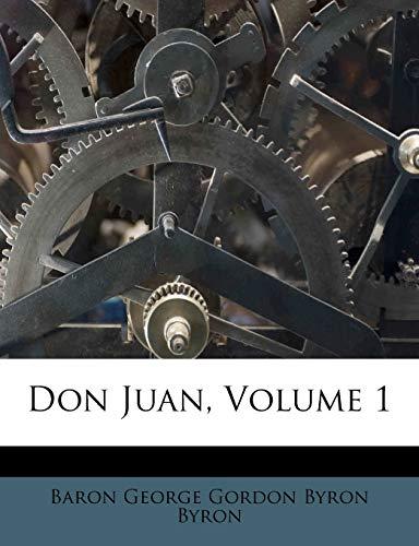 9781246123128: Don Juan, Volume 1