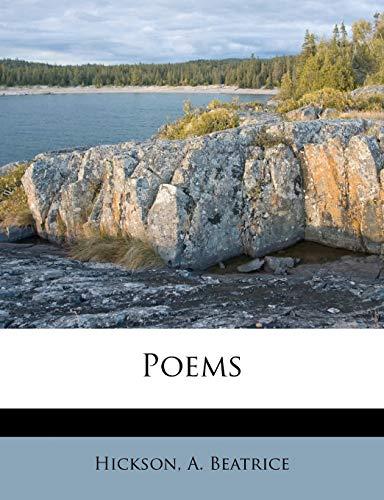 9781246169164: Poems