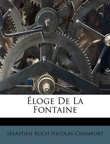 9781246293258: Eloge de La Fontaine