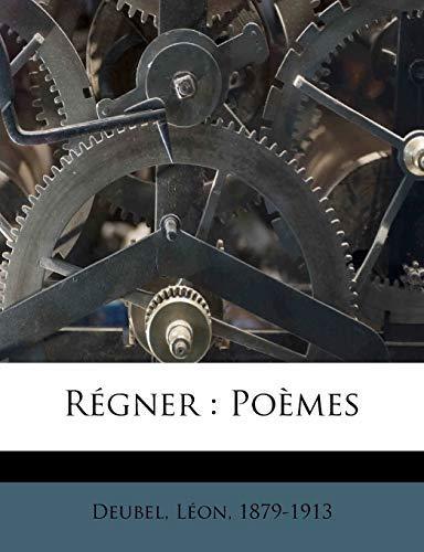 9781246886979: Regner: Poemes