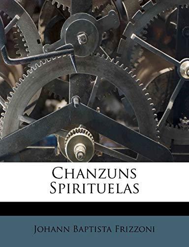 9781247252346: Chanzuns Spirituelas