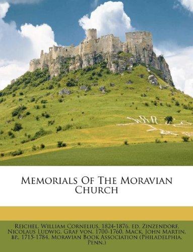 9781247421223: Memorials Of The Moravian Church