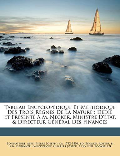 9781247682730: Tableau Encyclopédique Et Méthodique Des Trois Règnes De La Nature: Dédié Et Présenté A M. Necker, Ministre D'état, & Directeur Général Des Finances (French Edition)
