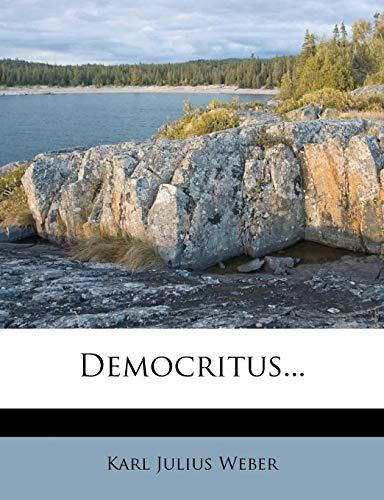 9781247738062: Democritus... (German Edition)
