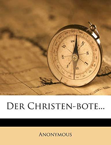 9781247784045: Der Christen-bote...