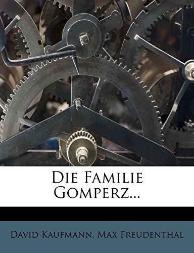 9781247931388: Die Familie Gomperz. (German Edition)