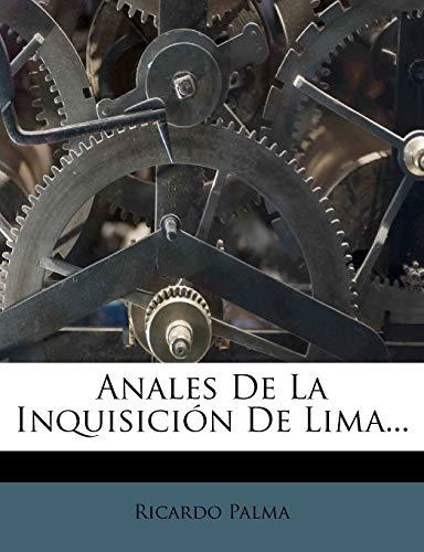 9781248069240: Anales De La Inquisición De Lima... (Spanish Edition)