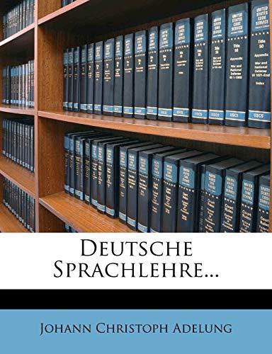 9781248088104: Deutsche Sprachlehre...