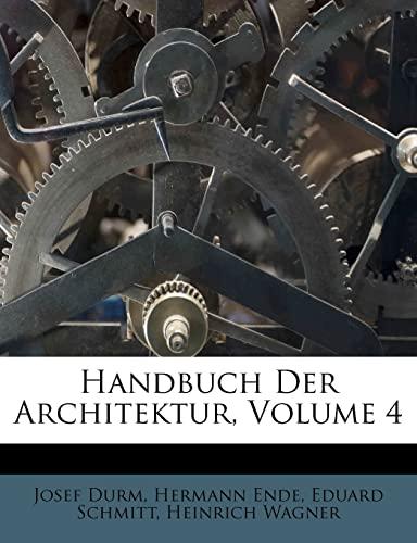 9781248793176: Handbuch Der Architektur.