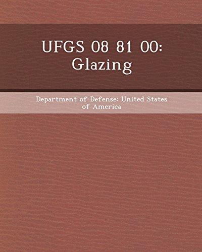 9781248972120: Ufgs 08 81 00: Glazing