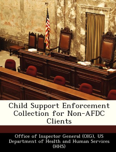 9781249102670: Child Support Enforcement Collection for Non-AFDC Clients