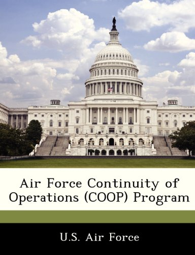 9781249126966: Air Force Continuity of Operations (COOP) Program