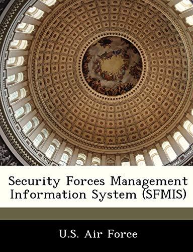 9781249128199: Security Forces Management Information System (SFMIS)