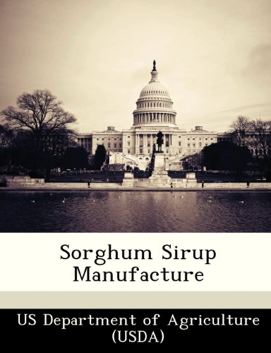 9781249148470: Sorghum Sirup Manufacture