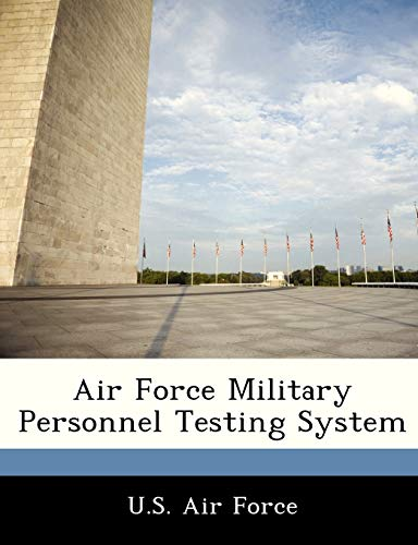 9781249155072: Air Force Military Personnel Testing System