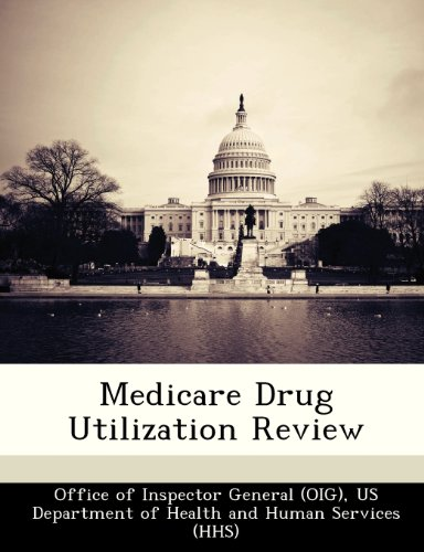 9781249211747: Medicare Drug Utilization Review