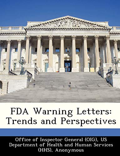 FDA Warning Letters: Trends and Perspectives: Brown, June Gibbs;