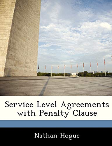 9781249215417: Service Level Agreements with Penalty Clause
