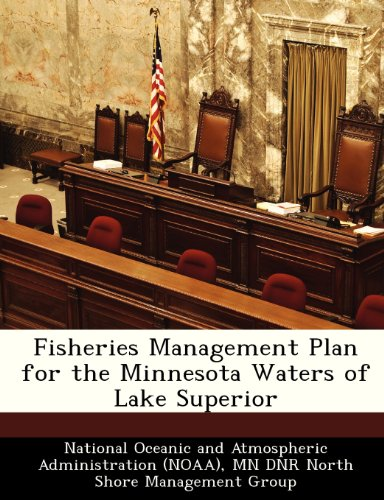 9781249255383: Fisheries Management Plan for the Minnesota Waters of Lake Superior