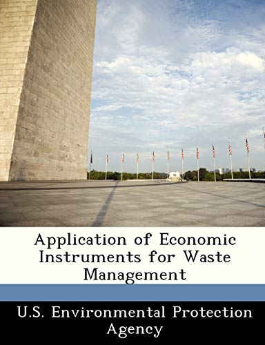 9781249432395: Application of Economic Instruments for Waste Management