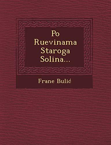 9781249470526: Po Ruevinama Staroga Solina... (Croatian Edition)