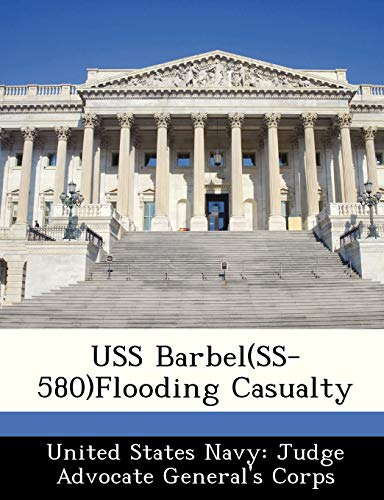 9781249575252: USS Barbel(SS-580)Flooding Casualty