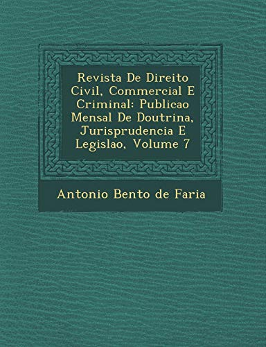 Revista de Direito Civil, Commercial E Criminal: