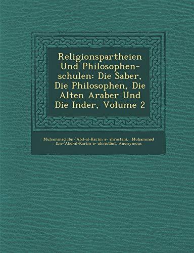 Religionspartheien Und Philosophen-schulen: Die Saber, Die Philosophen,: Theo Haarbrcker, Muhammad