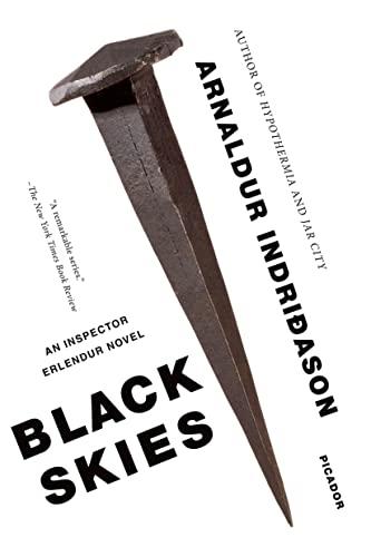 9781250000392: Black Skies: An Inspector Erlendur Novel (An Inspector Erlendur Series)