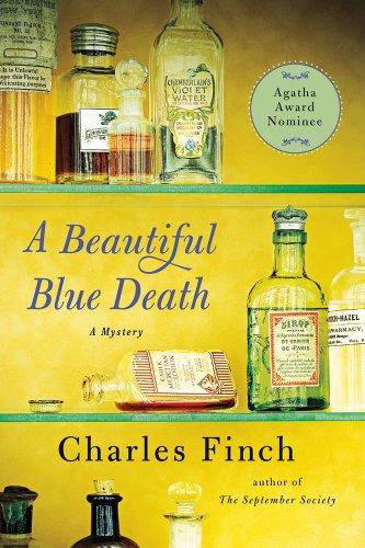 9781250000453: A Beautiful Blue Death (Charles Lenox Mysteries)