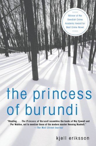 9781250000590: The Princess of Burundi (Ann Lindell Mysteries)