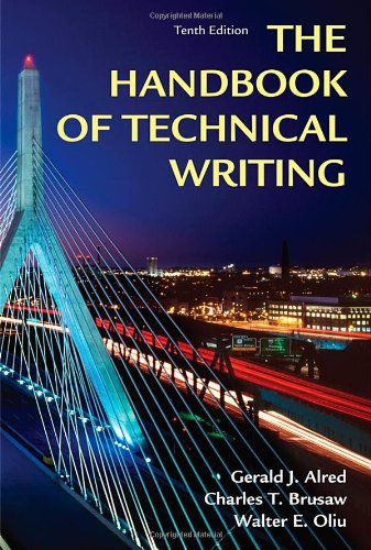 9781250004413: Handbook of Technical Writing, Tenth Edition