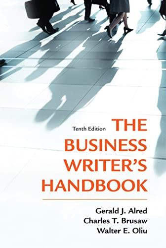9781250004420: The Business Writer's Handbook, Tenth Edition
