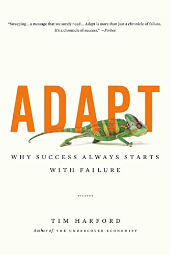 9781250007551: Adapt: Why Success Always Starts with Failure