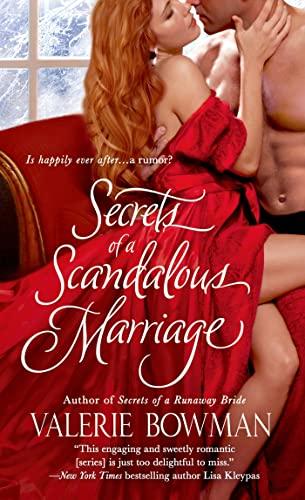 Secrets of a Scandalous Marriage (Secret Brides): Bowman, Valerie