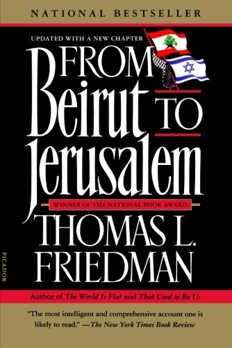 9781250015495: From Beirut to Jerusalem