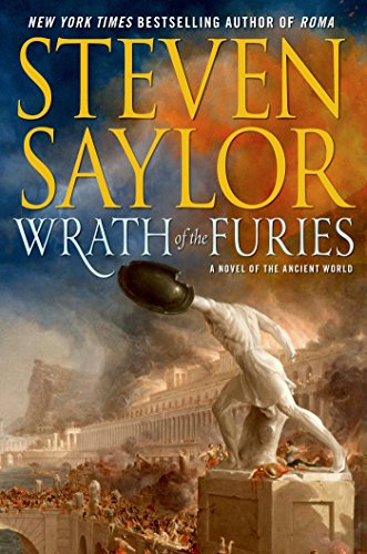 Wrath of the Furies: A Novel of the Ancient World (Novels of Ancient Rome)----SIGNED BY THE AUTHO...