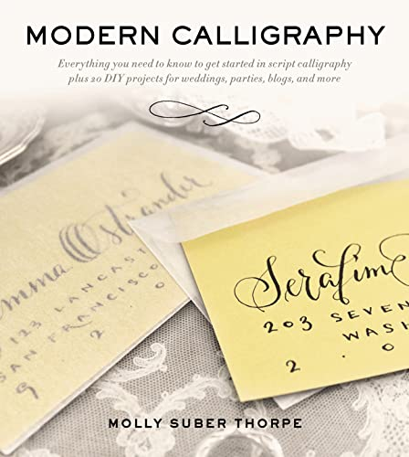 9781250016324: Modern Calligraphy: Everything You Need to Know to Get Started in Script Calligraphy