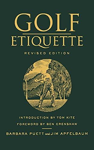9781250017161: Golf Etiquette