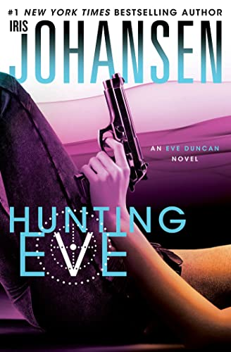 Hunting Eve (Eve Duncan) 9781250019998 #1 New York Times bestselling authorIris Johansenbrings us book two ina heart-stopping new Eve Duncan trilogy The stakes are raised even higher in Hunting Eve as Eve battles the man who is holding her prisoner. Secrets about why Eve has been targeted come into the light, bringing Eve even closer to danger. With its cliffhanger ending, Hunting Eve sets up perfectly for the finale, Silencing Eve.