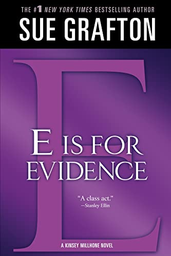"9781250020277: ""E"" is for Evidence (Kinsey Millhone Alphabet Mysteries)"