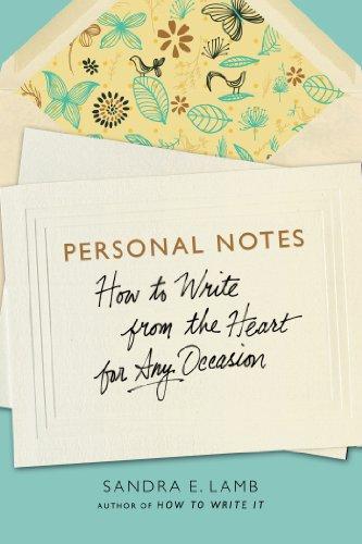 Personal Notes: E.; Sandra Lamb
