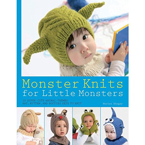 9781250029836: Monster Knits for Little Monsters: 20 Super-Cute Animal-Themed Hat, Mitten, and Bootie Sets to Knit