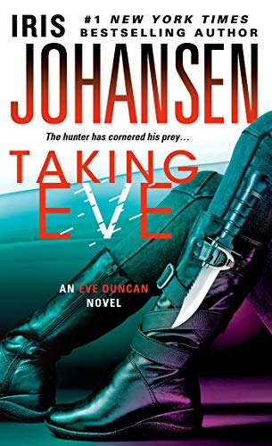 Taking Eve (Eve Duncan) 9781250034335  Filled with intriguing twists and characters and an overarching mystery that will keep fans coming back. ―Kirkus Reviews As a forensic sculptor, Eve Duncan's mission is to bring closure to the families whose loved ones have vanished. She knows their anguish―her own beloved daughter, Bonnie, was taken from her when Bonnie was just seven years old. It is only recently that this mystery was resolved and Eve could begin her journey to peace. Now Jim Doane wants the same kind of answers that Eve always longed for. His twenty-five-year-old son may or may not be dead, and he has only burned skull fragments as possible evidence. But he cannot go to the police for answers without exposing his dark past, so instead he chooses a bold step to find the truth―one that takes Eve down a twisted path of madness and evil and into the darkest heart of her own history. In this thriller from bestselling author Iris Johansen, Doane needs Eve's skills and he'll do anything to get them...even if it means taking Eve.